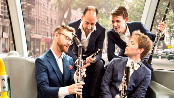 Nieuw Amsterdams Klarinet Kwartet – West Side Story