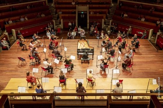 Wonderfeel Festival Orchestra XS conducted by Johannes Leertouwer
