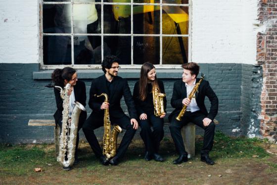 Maat Saxophone Quartet – Glazoenov, Rivier, Escaich, Wilson, Tafreshi